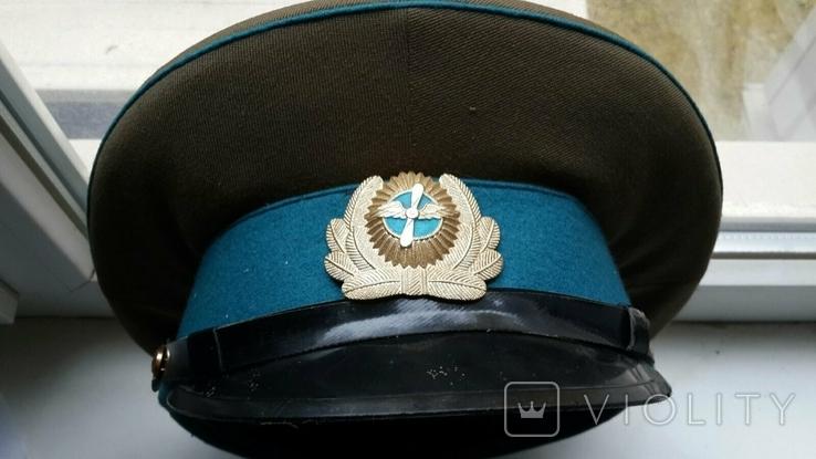 Фуражка летчика СССР 54 размер, фото №2