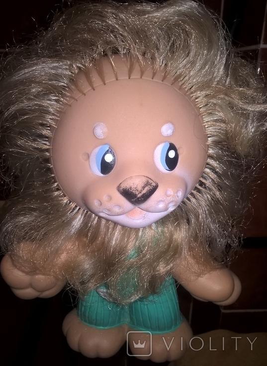 Резиновая игрушка Лев, фото №3