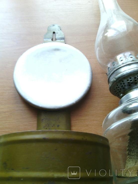 Лампа керосиновая со стеклом, настенная ( № 2 ), фото №6