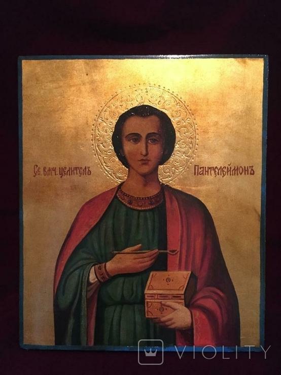 Икона Пантелеймон, фото №2
