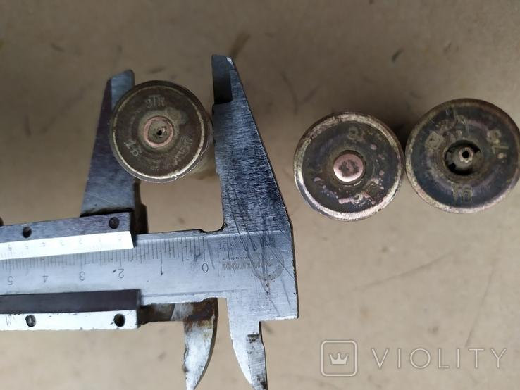 Латуні гільзи ЗТК 16 . 3 шт, фото №2