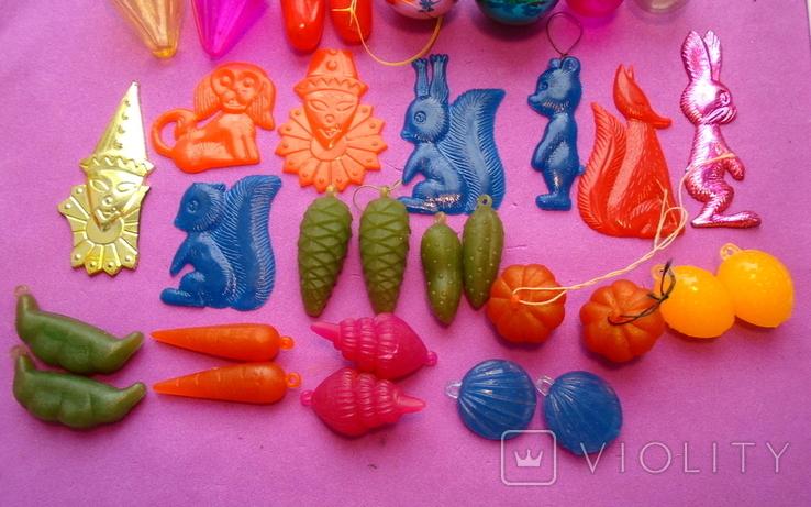 """Набор елочных игрушек """"Малютка"""" в коробке., фото №4"""