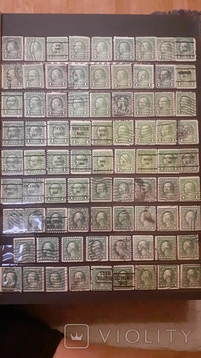 Альбом марок США, фото №5