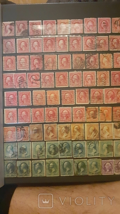 Альбом марок США, фото №11