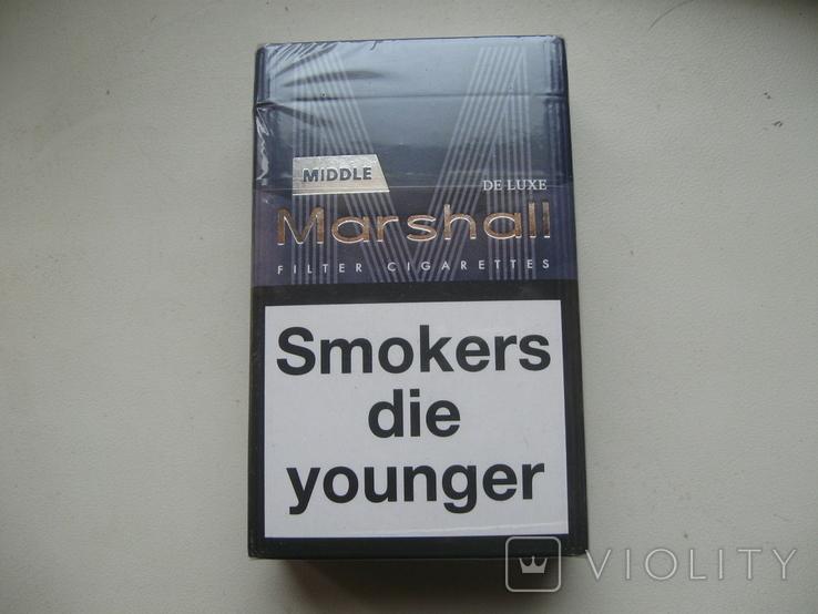 Сигареты Marshall ,новые,полная, фото №3