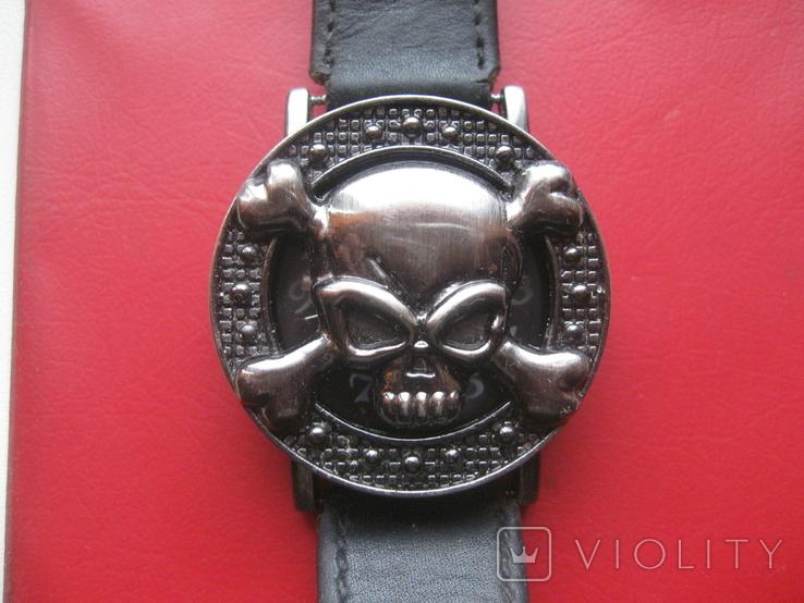Часы мужские ELITE ,с черепом,на ходу, фото №2