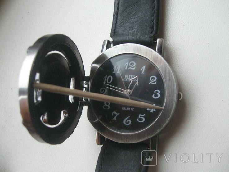 Часы мужские ELITE ,с черепом,на ходу, фото №6
