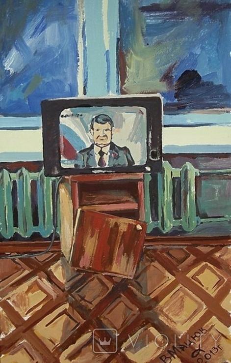 В советской квартире