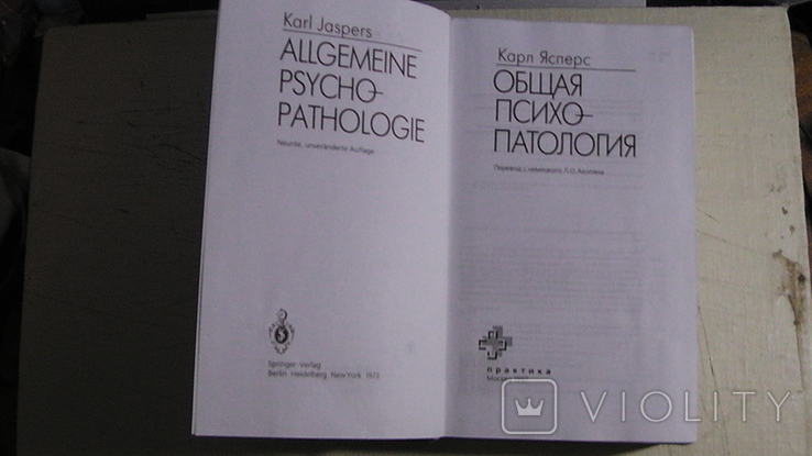 Карл Ясперс. Общая психопатология., фото №4