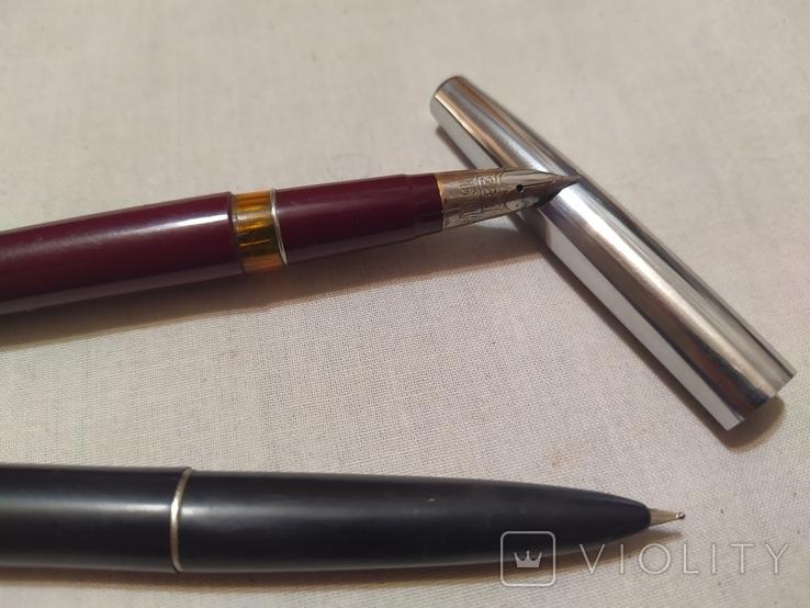 2 перьевые ручки, фото №2