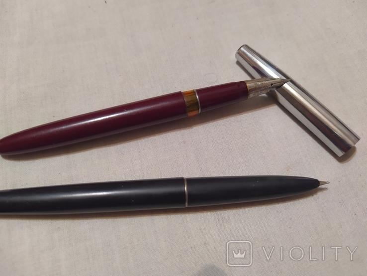 2 перьевые ручки, фото №3