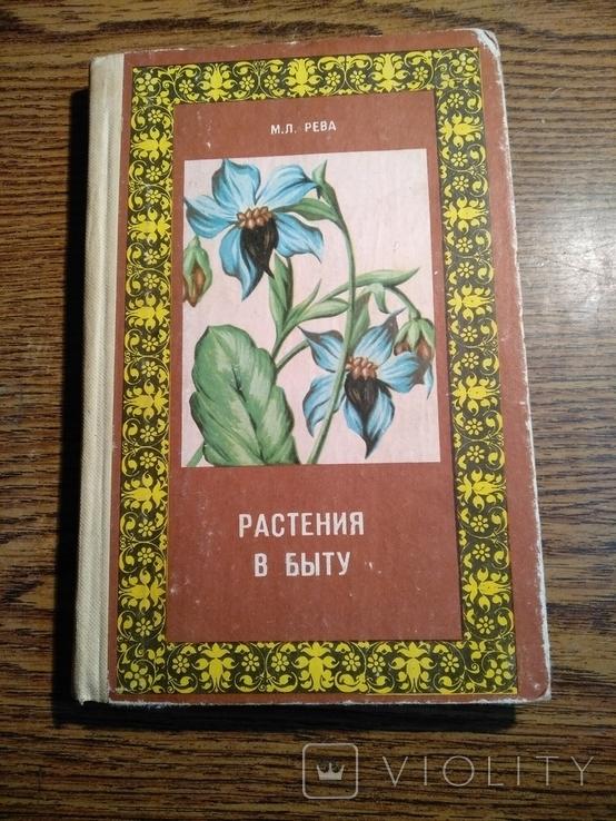 Растения в быту М.Рева 1982, фото №2