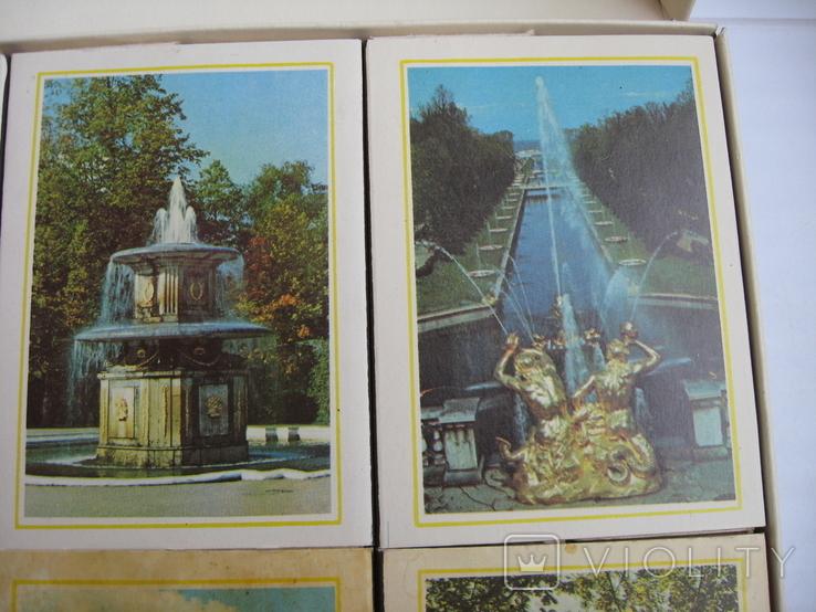 Сувенирные спички Фонтаны Петродворца, СССР, фото №5
