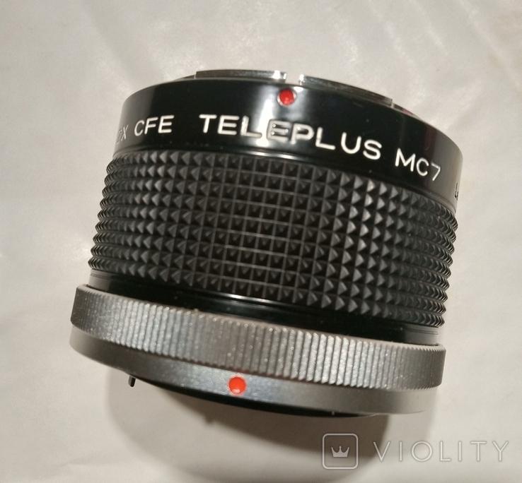 Kenko OP Teleplus MC7 2x Teleconverter Converter Lens. Чехол., фото №2