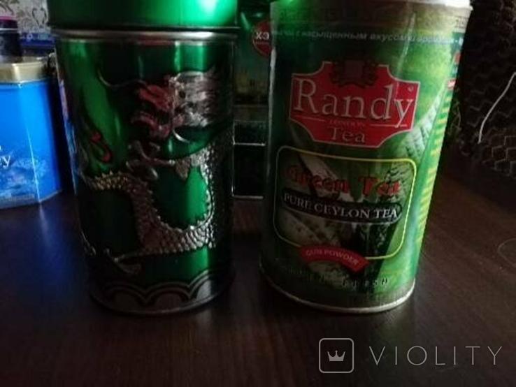 Жестяные банки от кофе, чая, конфет 20 штук, 1990-2000х. г., фото №5