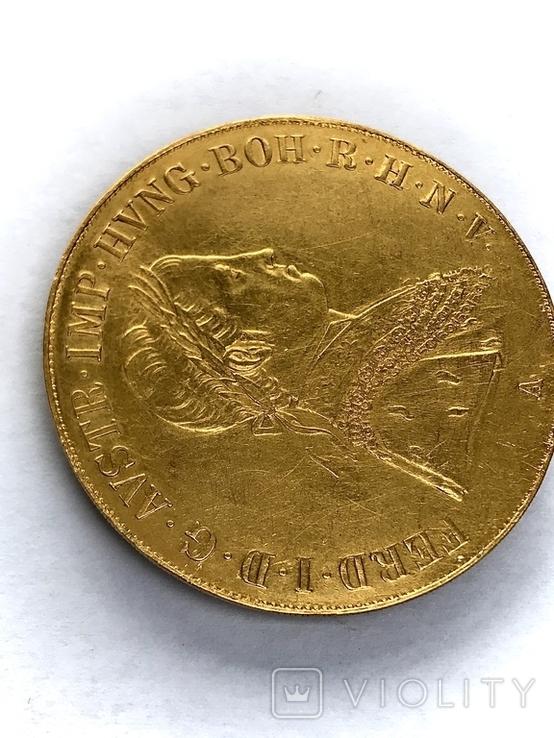 4 дуката 1848 Австро-Венгрия Фердинанд, фото №4