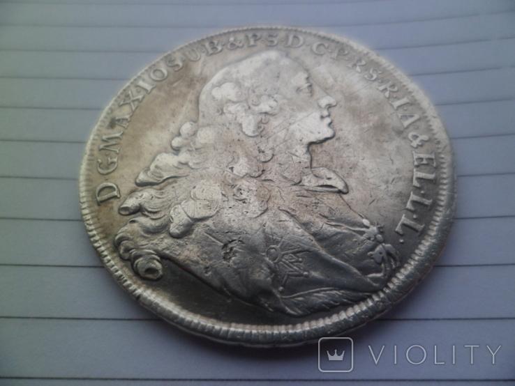 Талер 1756 рік, фото №2