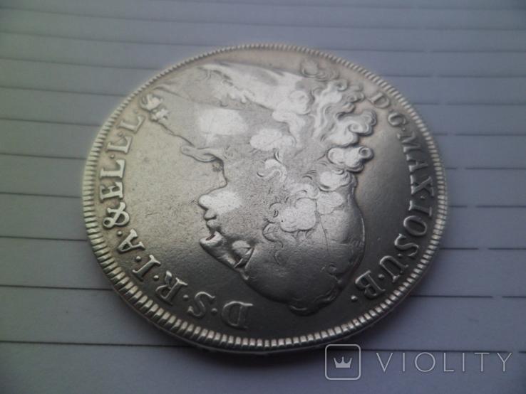 Бавария 1 талер Серебро 1765  рік, фото №4