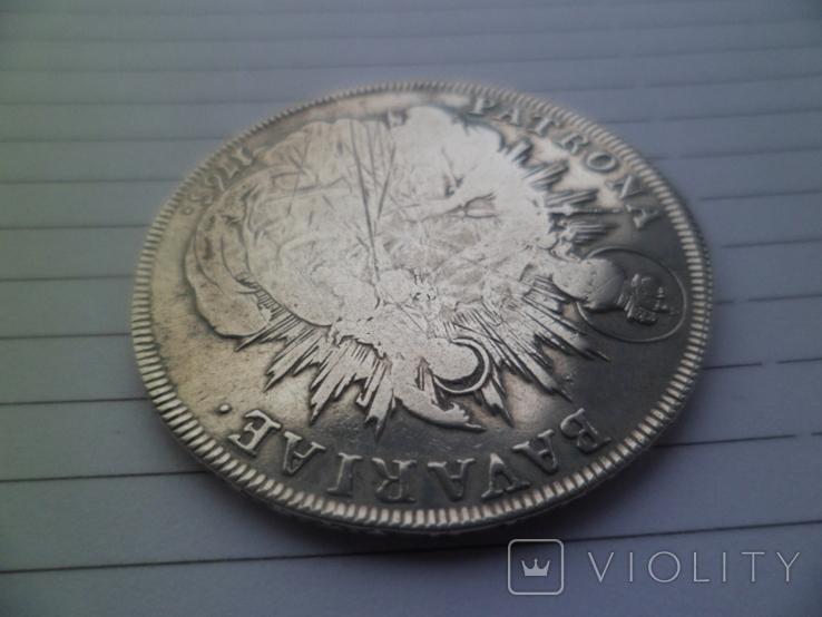Бавария 1 талер Серебро 1765  рік, фото №7