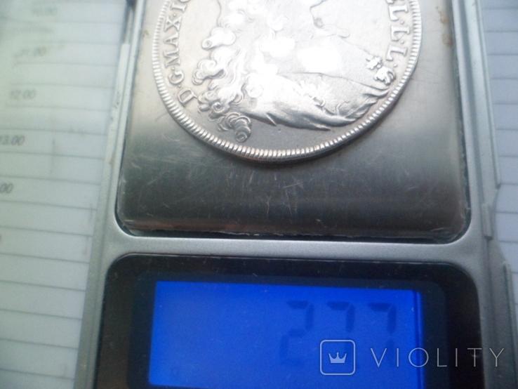 Бавария 1 талер Серебро 1765  рік, фото №11