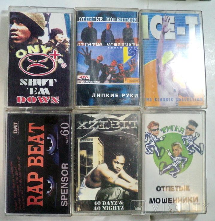 Аудиокассеты 22 шт, фото №6