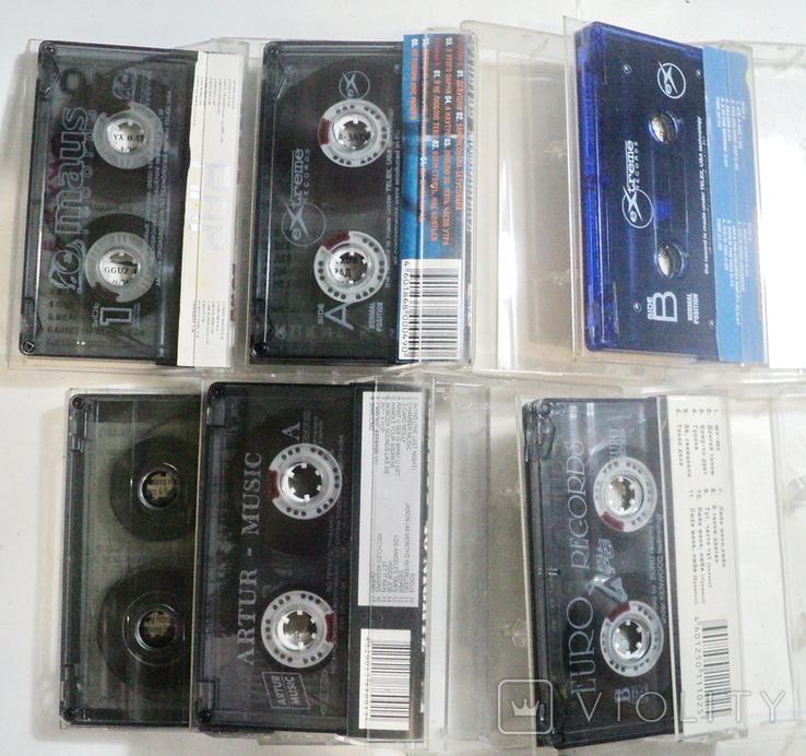Аудиокассеты 22 шт, фото №7