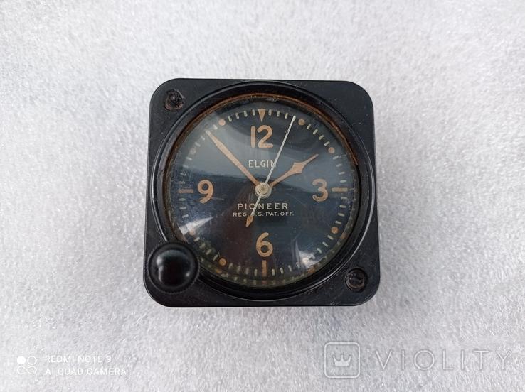 Часы Elgin военные приборные, фото №2