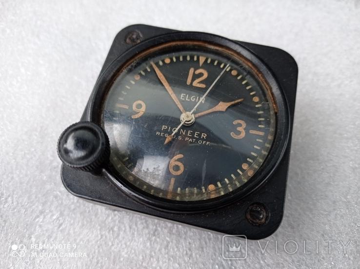 Часы Elgin военные приборные, фото №3