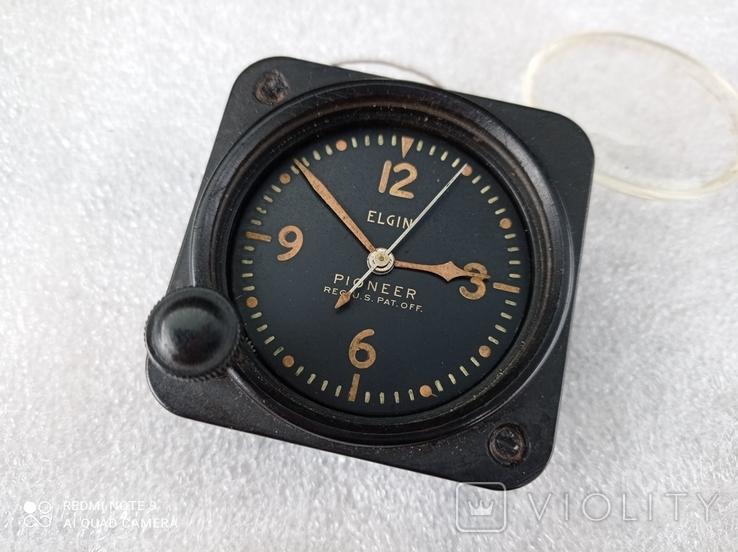 Часы Elgin военные приборные, фото №7