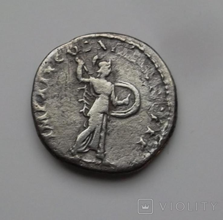 Денарий Домициан вес 2.67 гр, фото №9