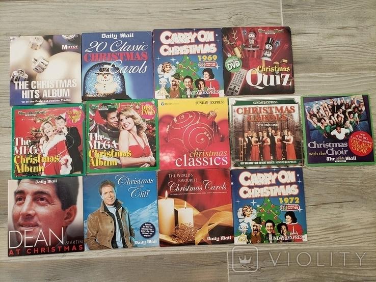 Рождественские песни. музыка. CD, фото №2