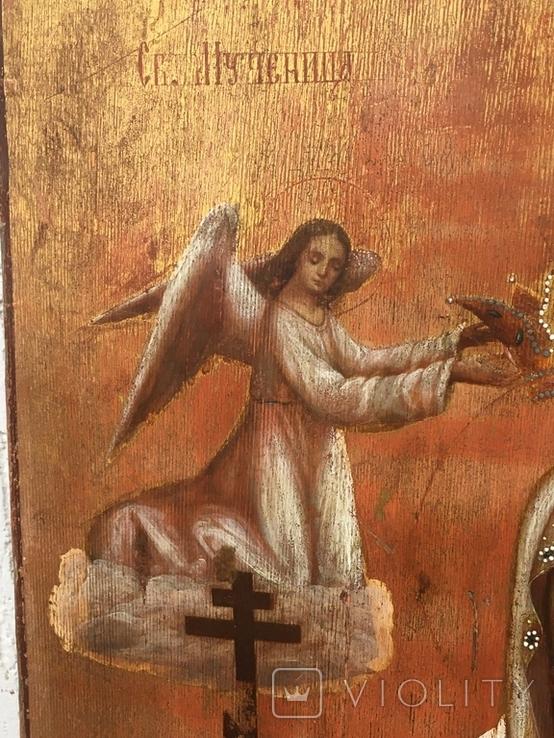 Св.Мученица Параскева(48.5х39.5) писала послушница Анастасия Феодорова, фото №4