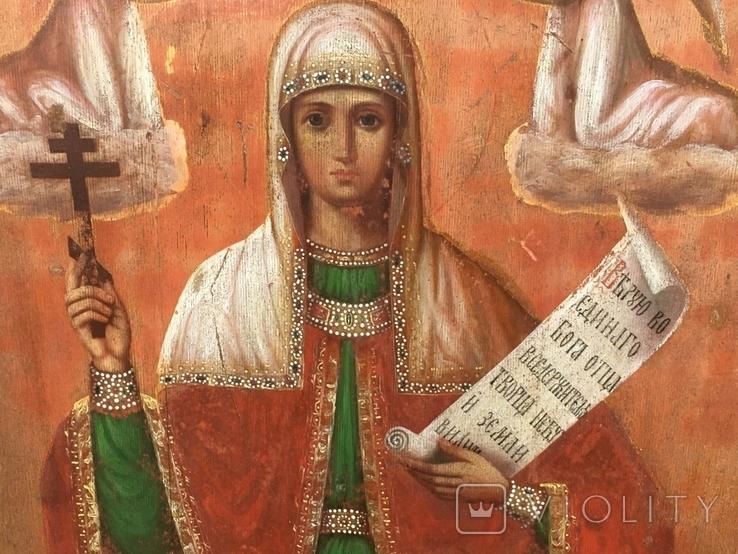 Св.Мученица Параскева(48.5х39.5) писала послушница Анастасия Феодорова, фото №7