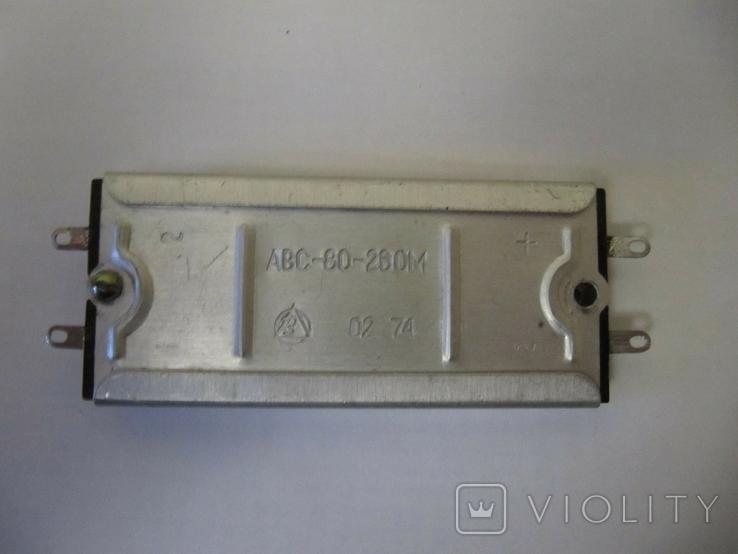 Селеновый мост для получения анодного напряжения в ламповых приемниках ., фото №2