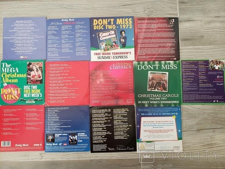 Рождественские песни. музыка. CD, фото №3