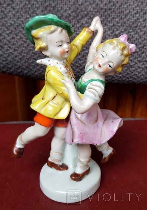 Фарф.скульптуры Дети 3 шт., фото №5