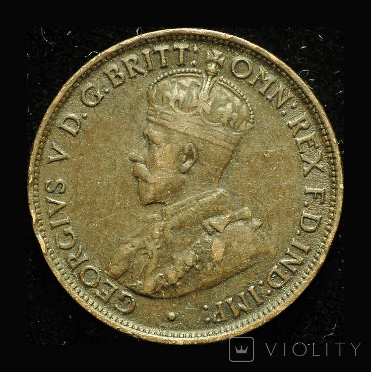 Австралия 1/2 пенни 1912, фото №2