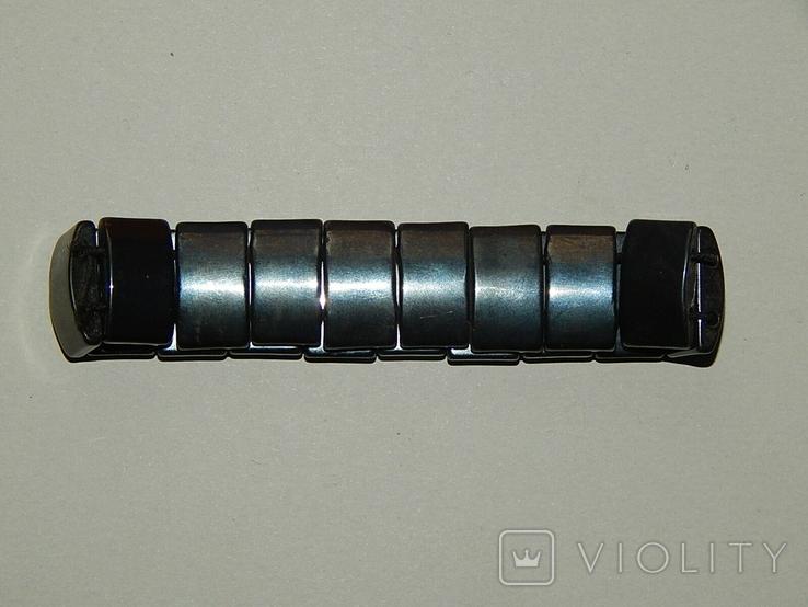 Браслет из черного нефрита, фото №6