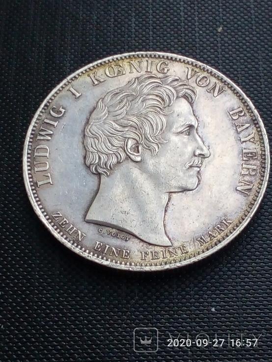Таляр Баварії 1828 р. Ювілейний., фото №2