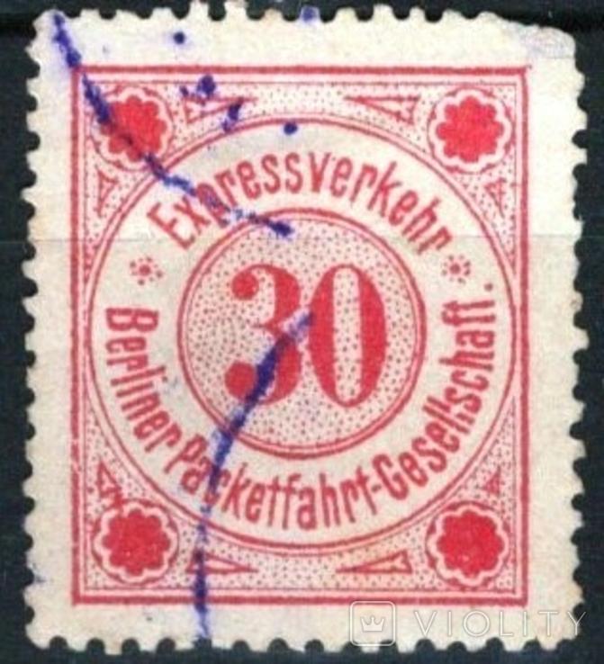 гг006 Германские города. Берлин 1885 №В6