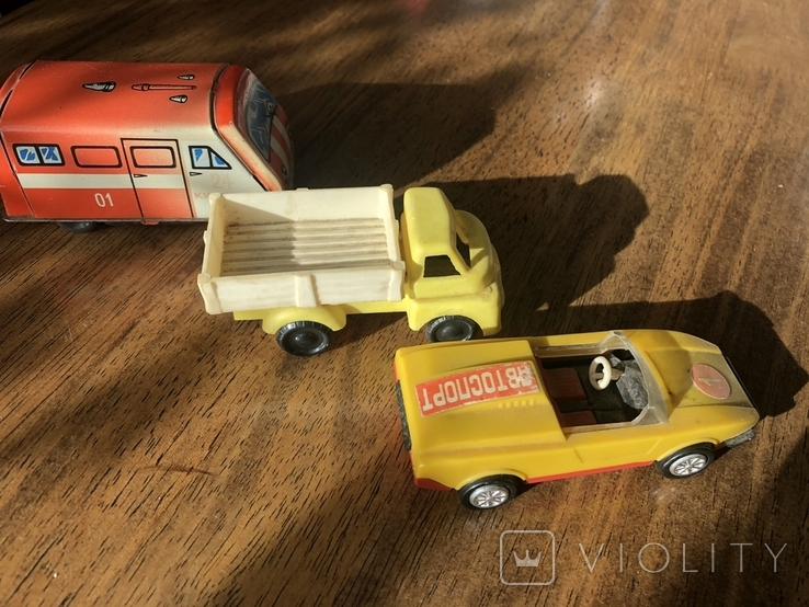 Машинки 3 шт, СССР, фото №3