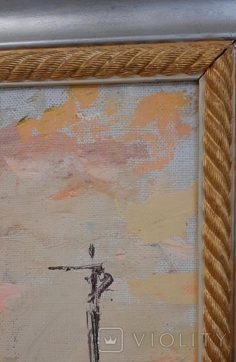 *Лагидний ветер* х/м, 72*54 Заслуженный Худ.Украины Шаповалов С.Г.,2011г., фото №6