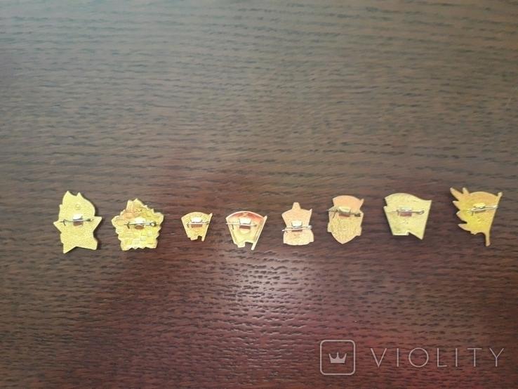 Набір комсомольських значків, фото №3