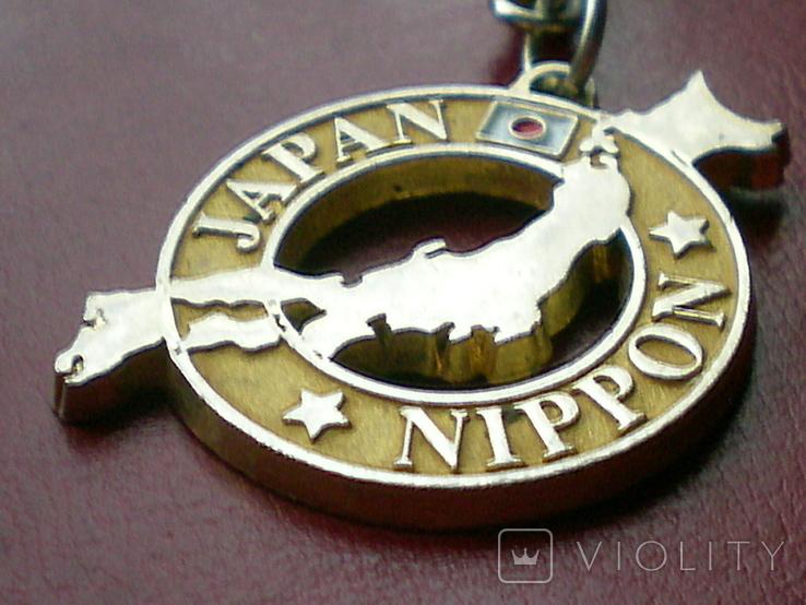 "Брелок ""JAPAN NIPPON"" (Tokyo,Osaka,Yokohama,Kioto). Приобретен в 80-х гг. в Монголии.., фото №10"