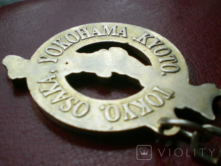 "Брелок ""JAPAN NIPPON"" (Tokyo,Osaka,Yokohama,Kioto). Приобретен в 80-х гг. в Монголии.., фото №11"