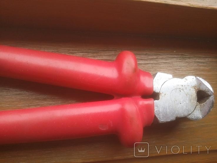 Кусачки торцевые Новосибирск 200 мм до 1000 Вольт, фото №9