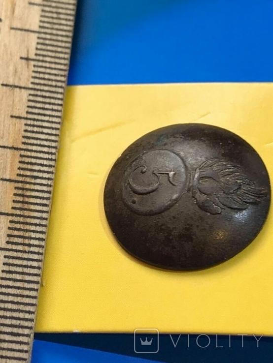 Пуговица 5-го гренадерского полка Царской армии, фото №3