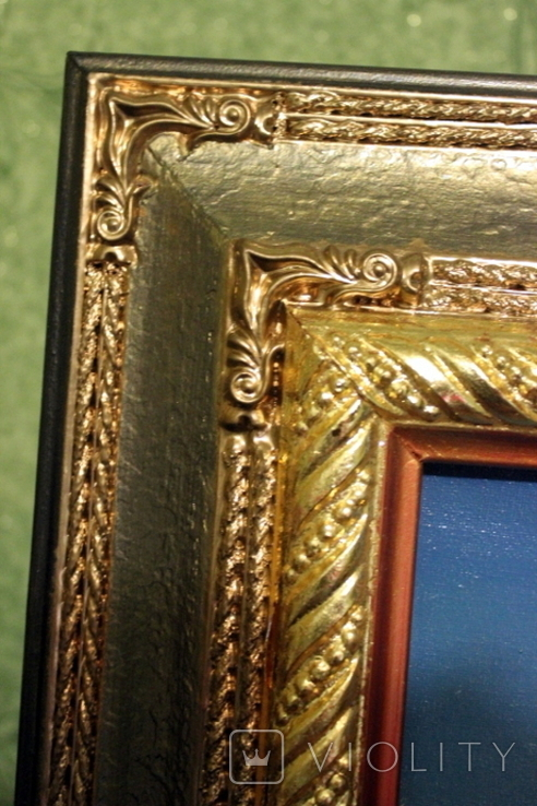 Копия картины худ .Айвазовского.(маринизм)-масло-холст, фото №11