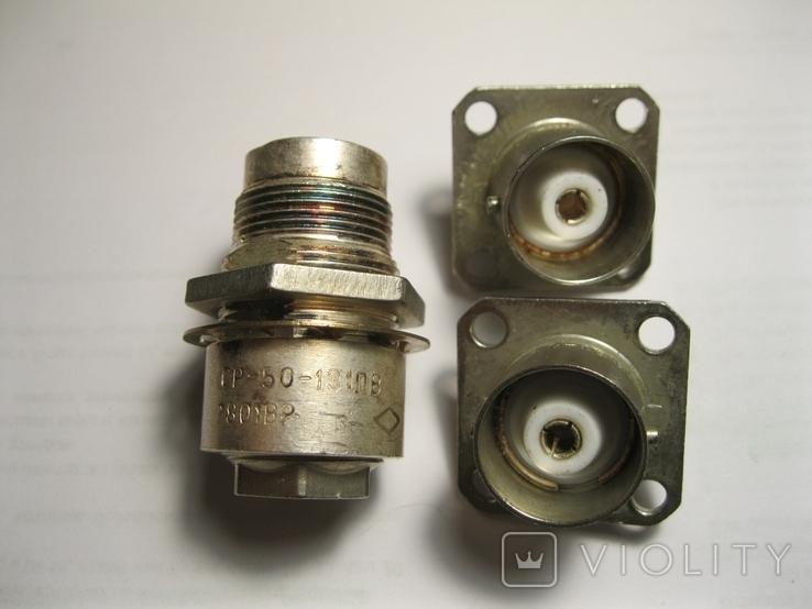 Разъемы СР-50-131ПВ+СР-50-65ФП(2шт), фото №2