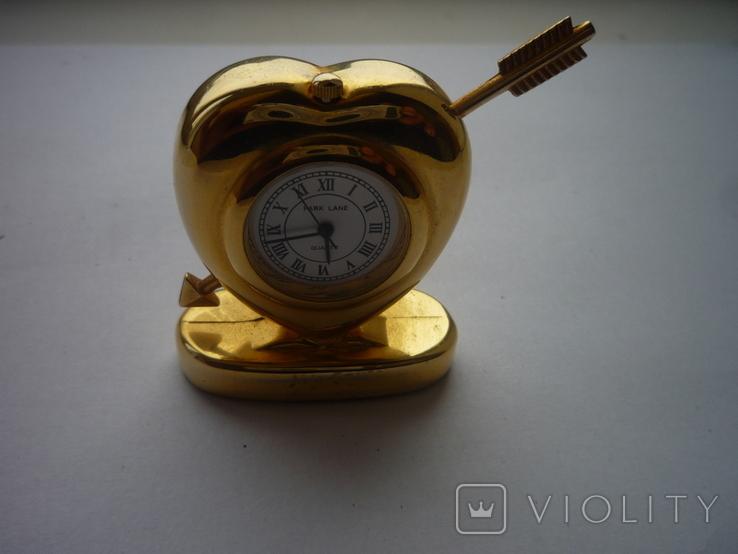Часы сердечко, фото №2